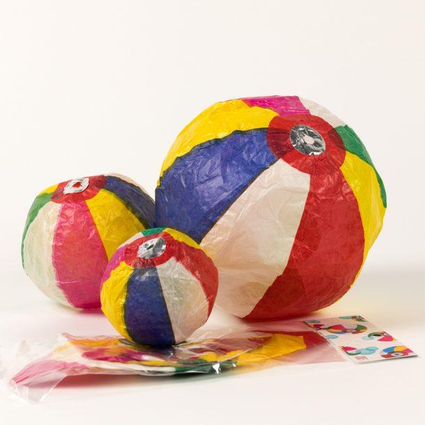 image produit Set 3 ballons boules Papier
