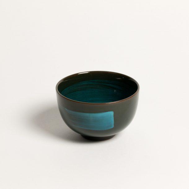 image produit Bol thé au Pinceau Turquoise