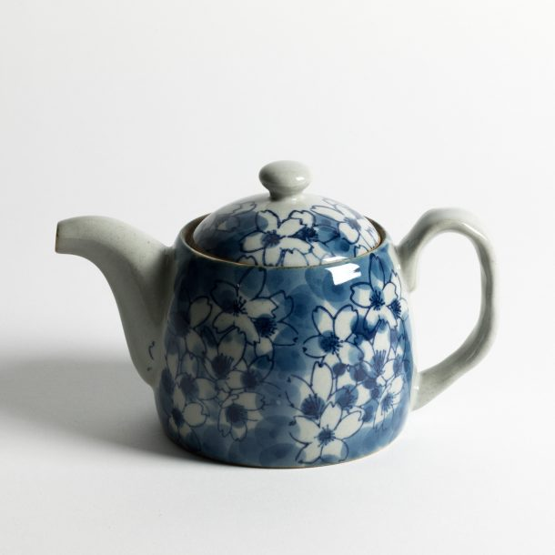 image produit Théière Sakura Nuages Bleus