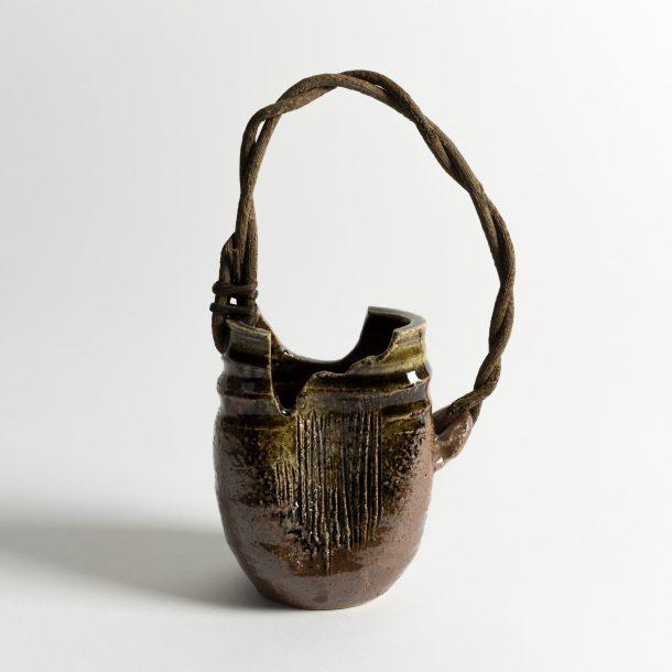 image produit Vase PM Shiga anse bois