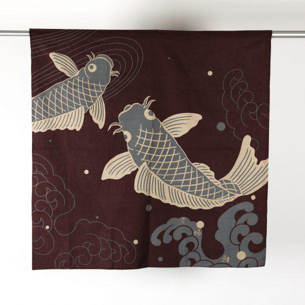 image produit Furoshiki coton 90 Koi