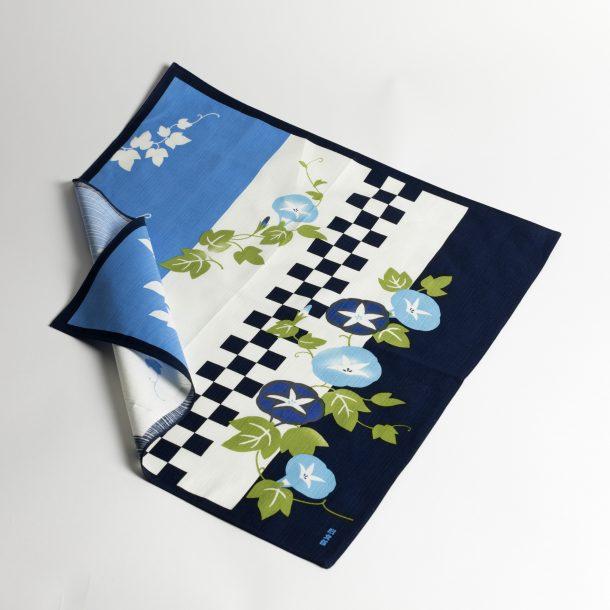 image produit Furoshiki HM50 Volubilis Bleus