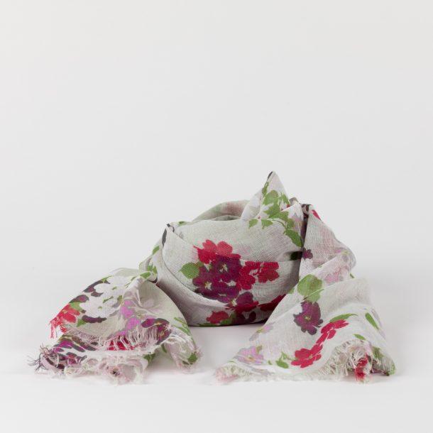 image produit Etole voile de Coton Fleurs