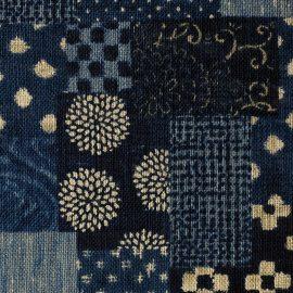 Coton/m Patch Blue