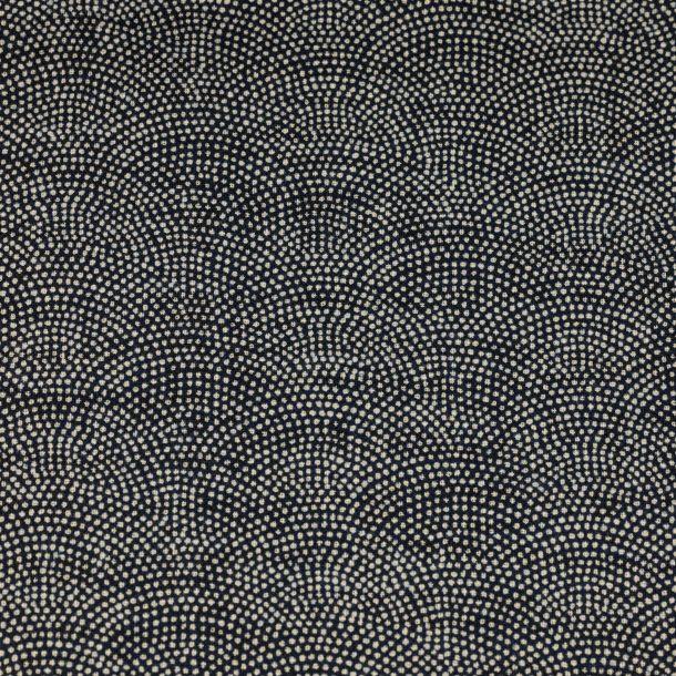image produit Tissus/m Indigo Dots