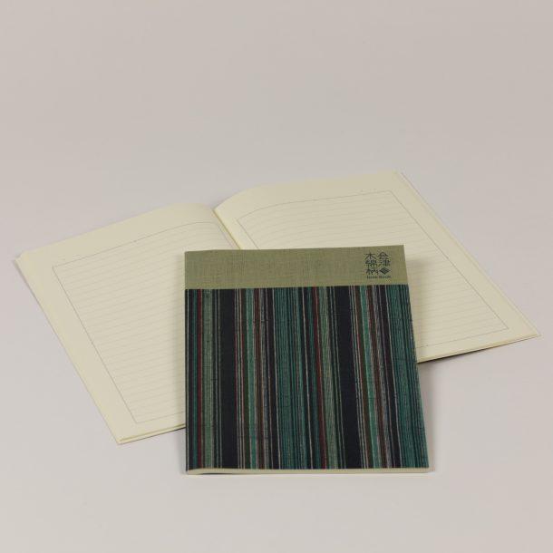 image produit Cahier Stripes Bleu